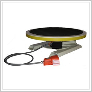 Rotating display turntable industrial turntables for Motorized turntable heavy duty